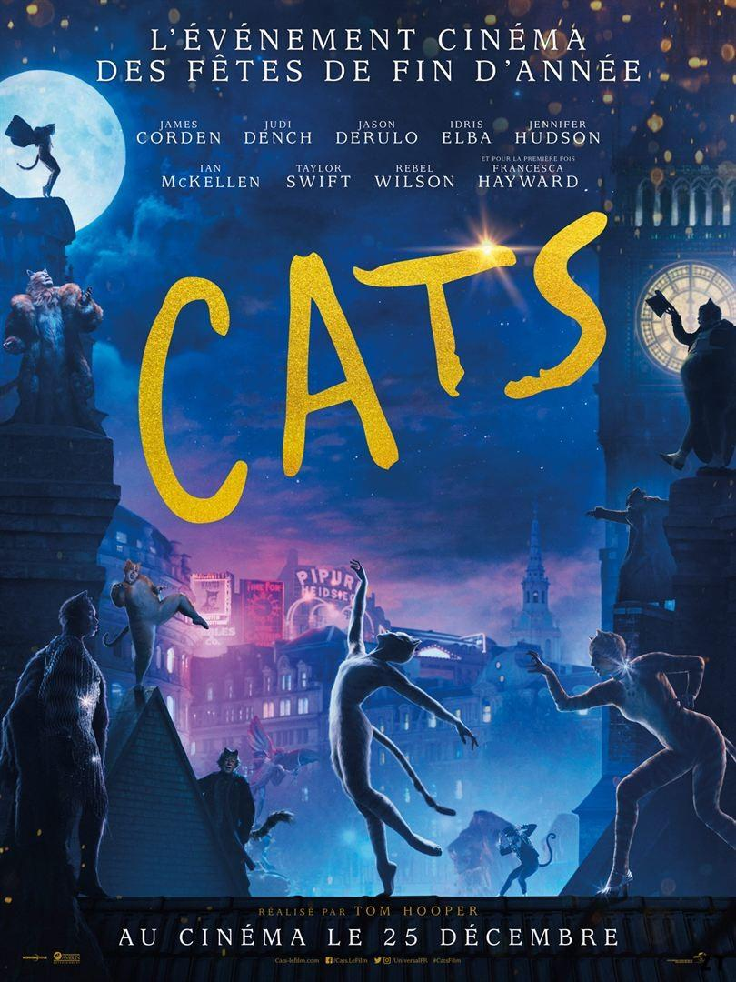 Cats 2019 TRUEFRENCH 720p HC HDRiP MD x264-STVFRV