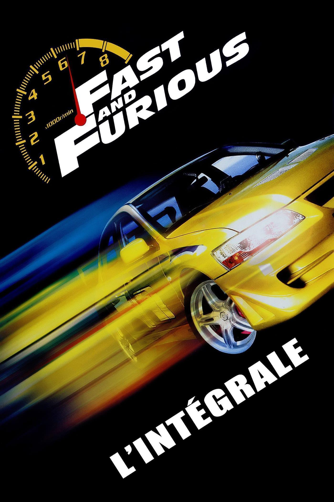Fast and Furious (Integrale) FRENCH DVDRIP 2001-2019
